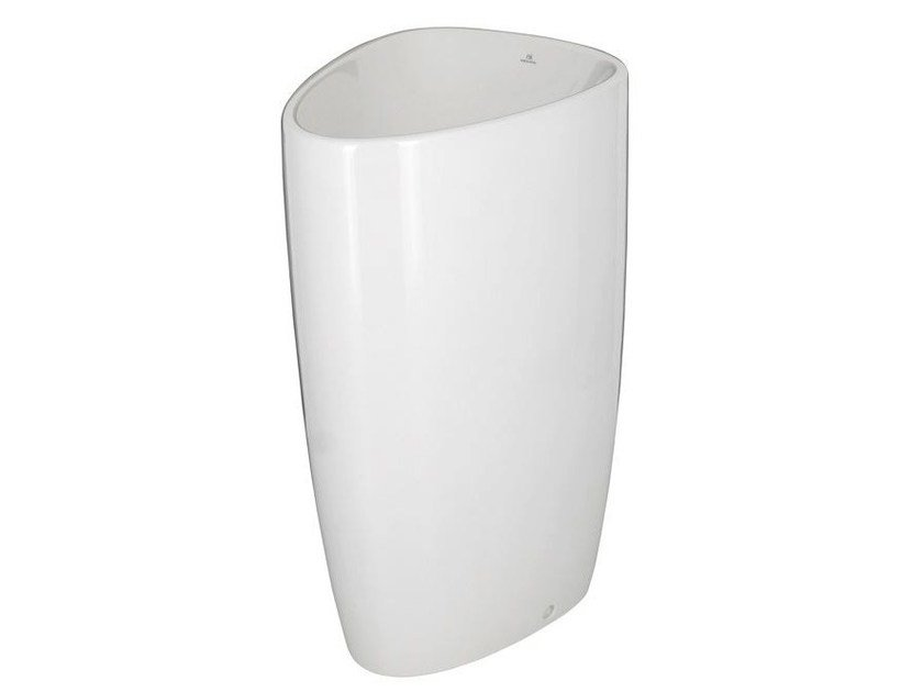 Freestanding ceramic washbasin LOUNGE | Freestanding washbasin by NOKEN