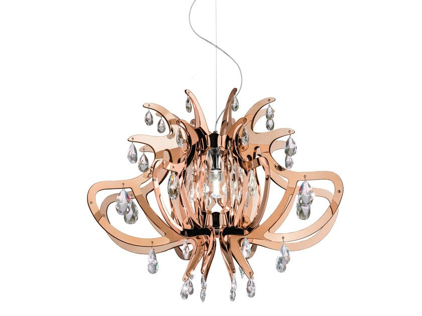 Copperflex pendant lamp LILLIBET COPPER by Slamp