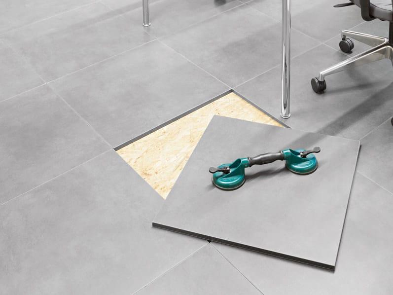 Revêtement de sol auto-adhésif en grès cérame REVICOMFORT by Revigrés