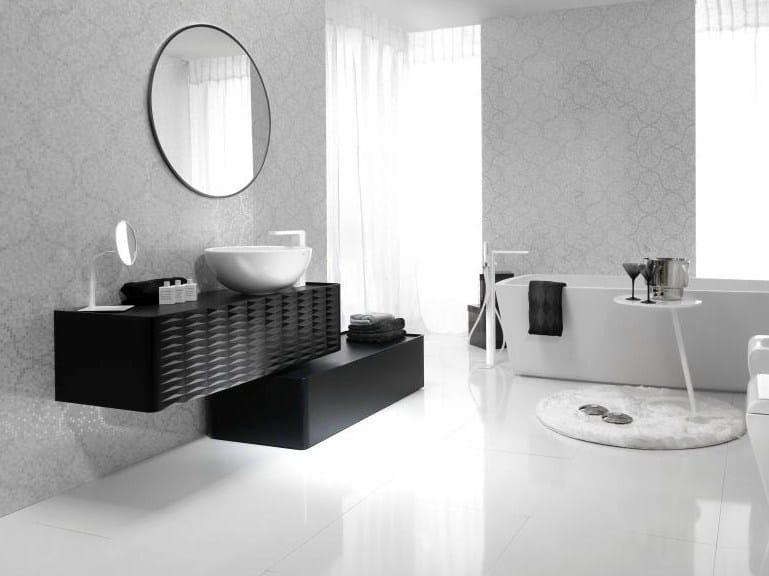 Floorstanding bathroom cabinet with drawers LOUNGE   Floorstanding bathroom cabinet by Noken
