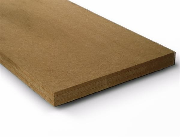 Acoustic insulation panel in wood fiber FiberTherm SD® 160 by BetonWood
