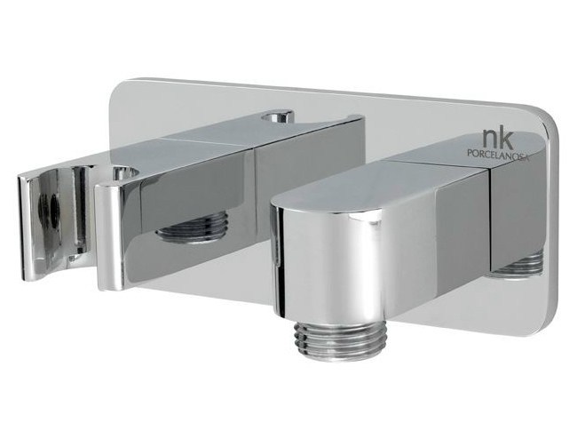 Metal handshower holder LOUNGE | Handshower holder by Noken