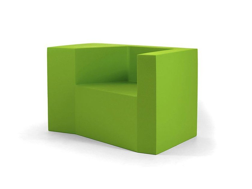 QM Foam armchair with armrests DAI SOFA 01 by Quinze & Milan