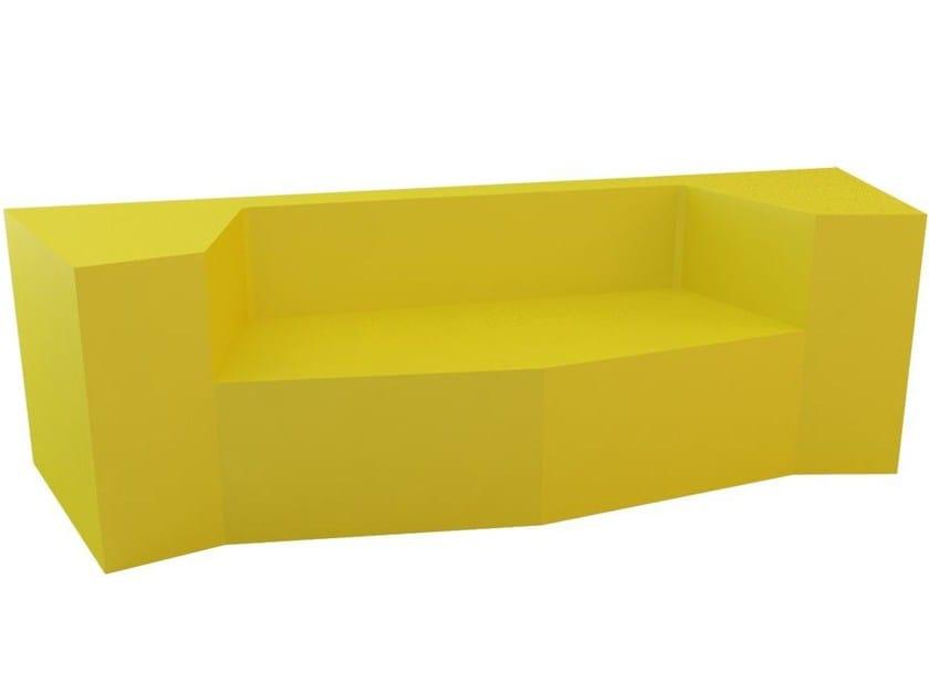 QM Foam leisure sofa DAI SOFA MIRROR by Quinze & Milan