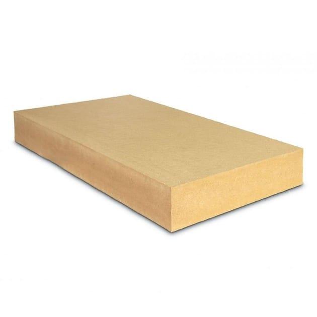 Insulating panel made of wood fiber for attics FiberTherm Top® 140 by BetonWood