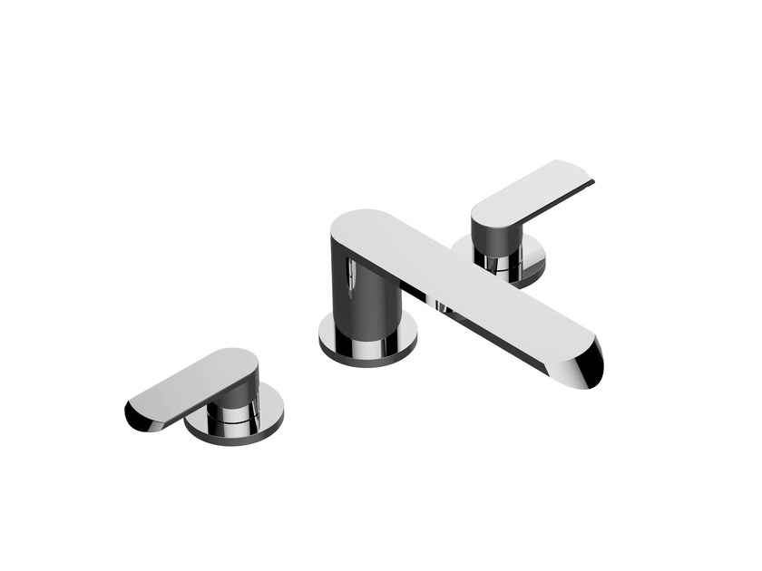 3 hole bathtub tap PHASE | Bathtub tap by Graff Europe West