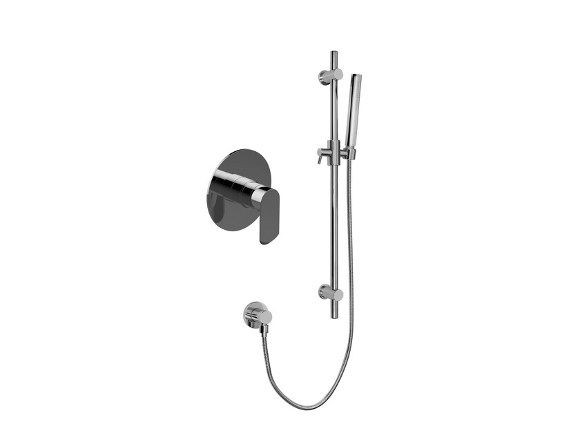 2 hole shower mixer with hand shower PHASE | Shower mixer with hand shower by Graff Europe West
