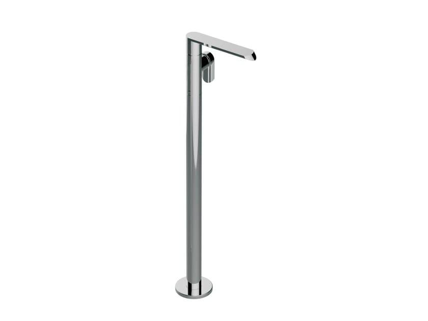 Chrome-plated floor standing bathtub mixer PHASE | Floor standing bathtub mixer by Graff Europe West