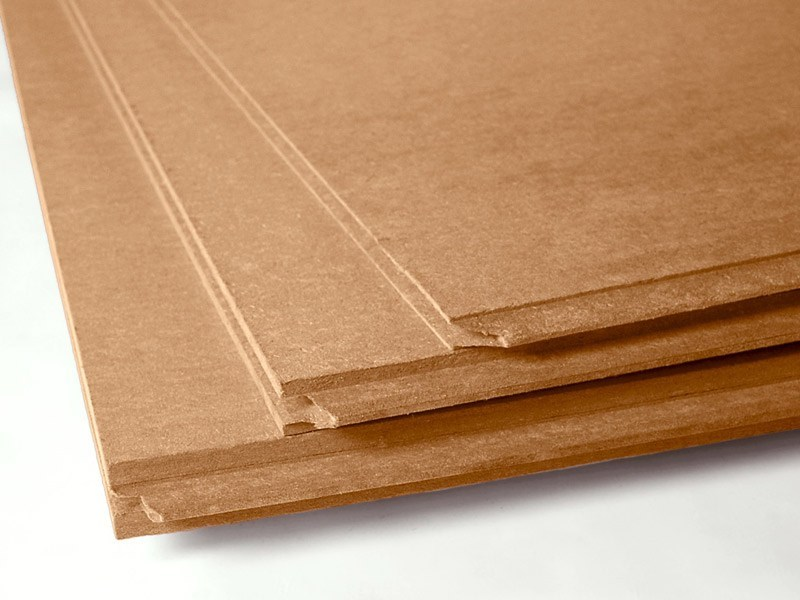 Wood fiber panel for floors and walls FiberTherm Universal dry® 180 by BetonWood