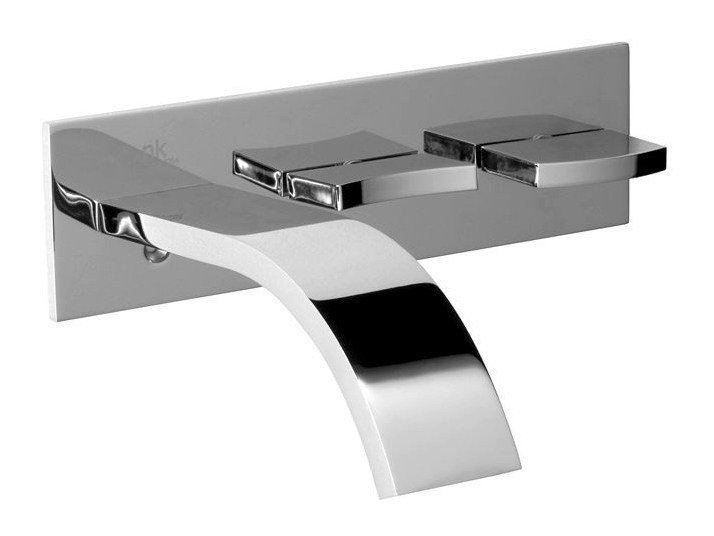 Wall-mounted washbasin mixer with flow limiter IMAGINE | Washbasin mixer by Noken