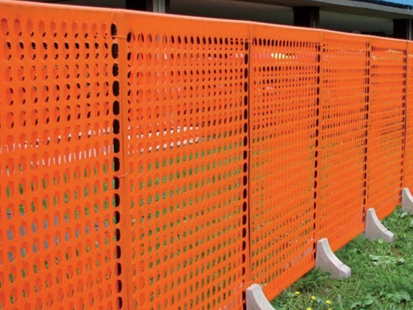 Modular fencing for building site LIMIT 2 by TENAX