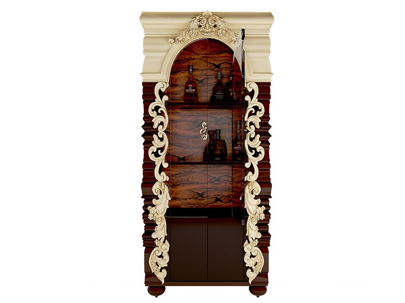 Wooden display cabinet ABBEY by Malabar