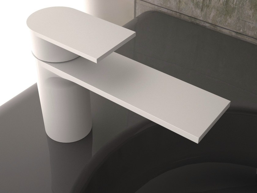 Painted-finish washbasin mixer PIANO by Rubinetterie 3M