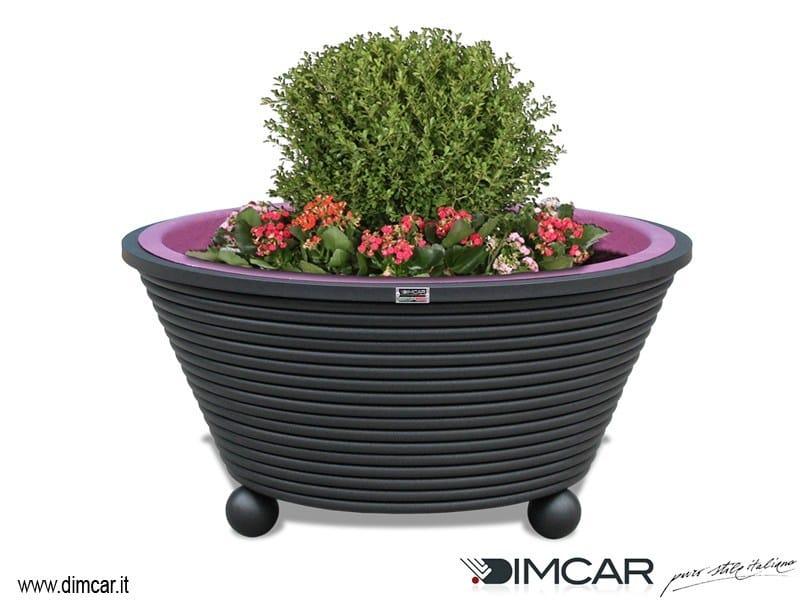 Metal Flower pot Fioriera Ermes by DIMCAR