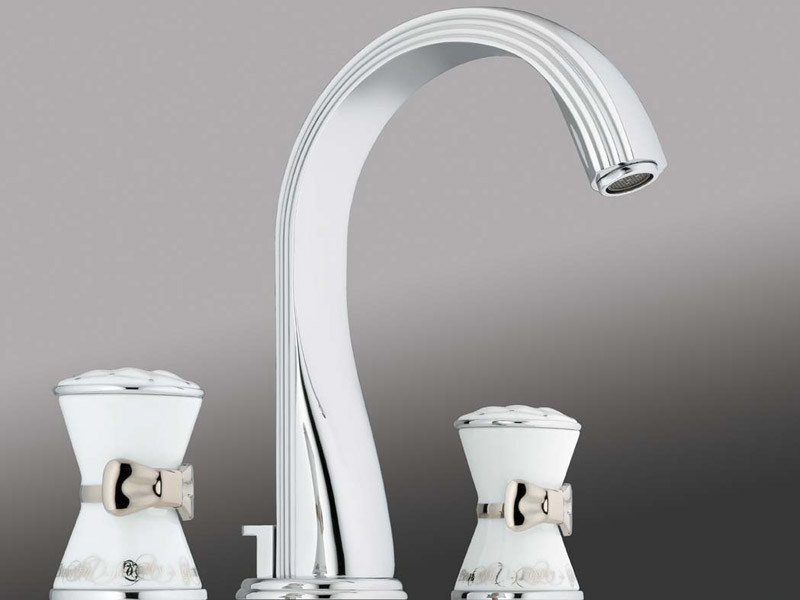 bathroom and kitchen fixtures poemes washbasin tap by intercontact 15503