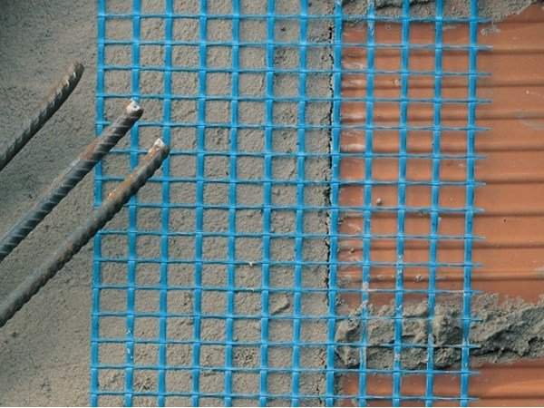 Mesh and reinforcement for plaster and skimming ARMATEK by TENAX