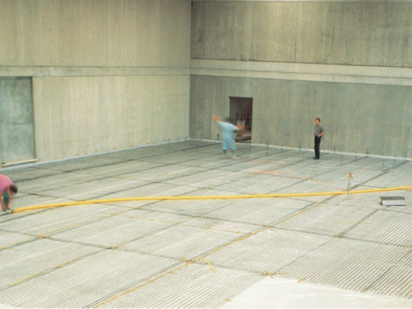 Steel mesh for base layer for flooring TENAX RF2 by TENAX