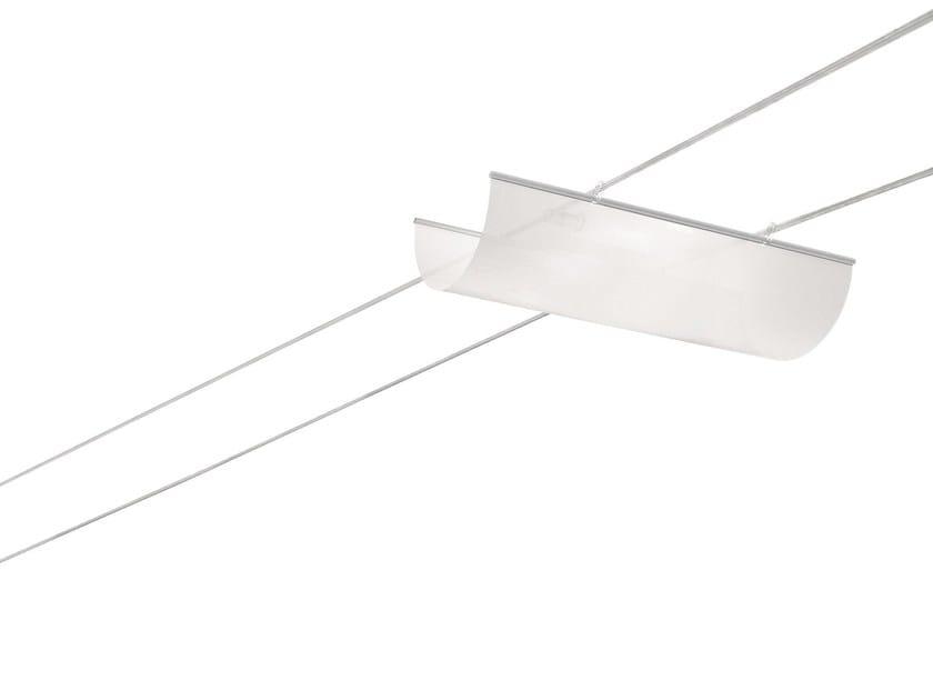 Cable-mounted pendant lamp NEWTENSOMINITELI by Cini&Nils