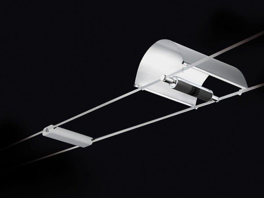 amp;nils Cini In Con Diffusore Su Lampada Alluminio A Cavi Tensocieli Sospensione xrBeWCdo