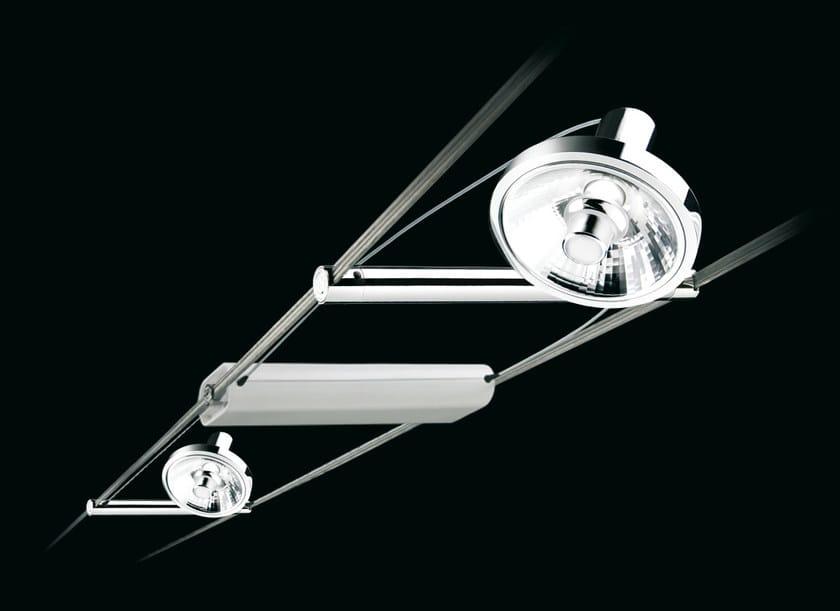 Ceiling adjustable spotlight TENSOSPOT IODURI by Cini&Nils