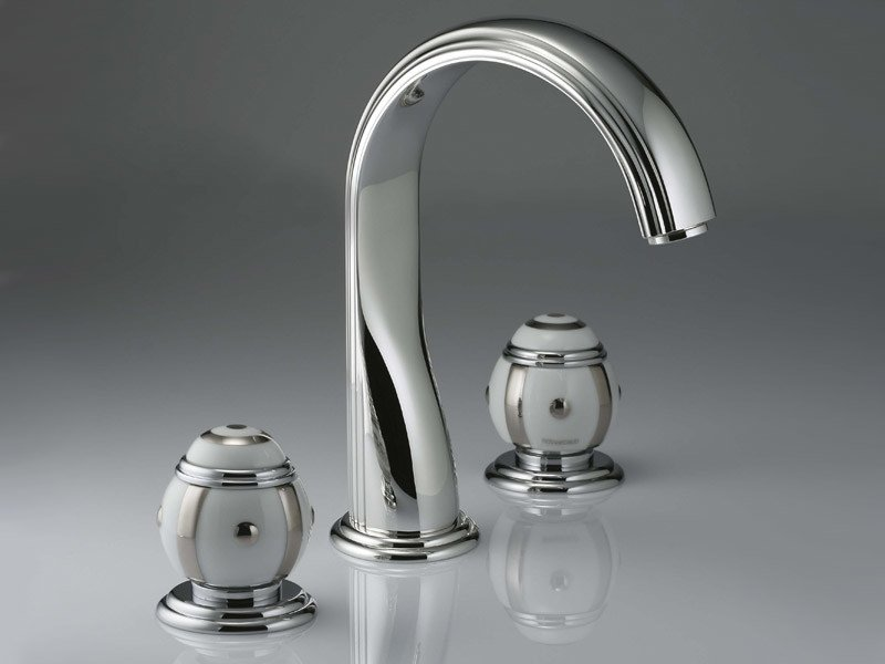 3 hole washbasin tap ITHAQUE | Washbasin tap by INTERCONTACT