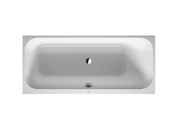 Rectangular built-in acrylic bathtub HAPPY D.2   Rectangular bathtub by Duravit