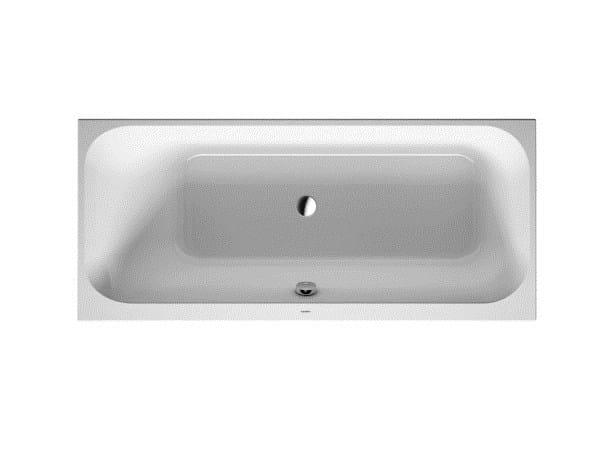 Rectangular built-in acrylic bathtub HAPPY D.2 | Rectangular bathtub by Duravit