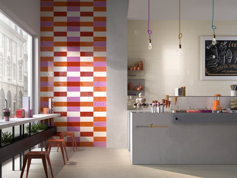 Double-fired ceramic wall tiles POP by Ceramica d'Imola