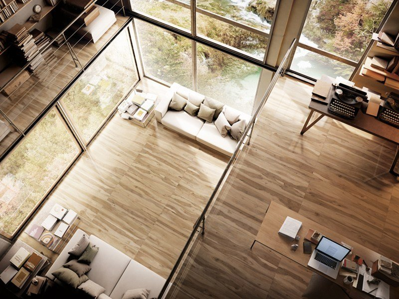 Glazed stoneware flooring with wood effect LE ESSENZE by Ceramica d'Imola