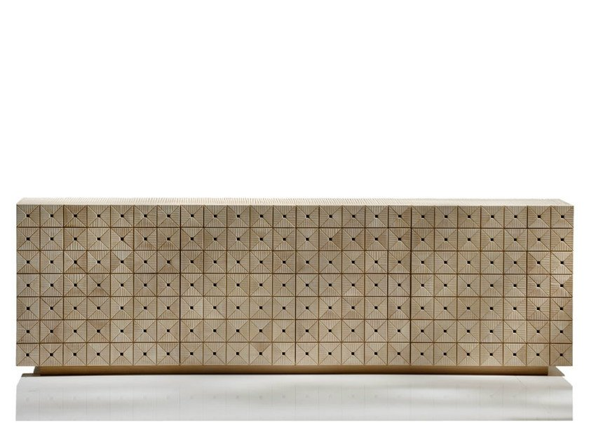 Linden sideboard with doors MOISSAC by HABITO