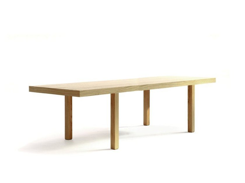Rectangular wooden table CAMPING TABLE 250 BIS by Quinze & Milan