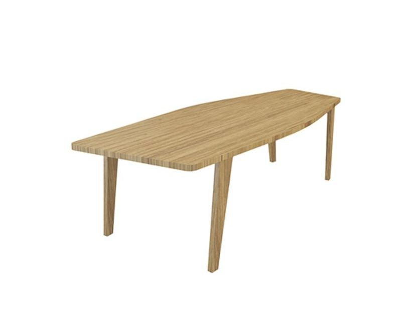 Wooden table ROOM 26 MEDIUM TABLE by Quinze & Milan