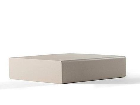 Low square QM Foam coffee table MATRASS MAT 75 by Quinze & Milan