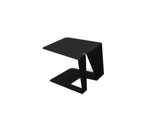 Powder coated steel side table M2 SIDETABLE by Quinze & Milan