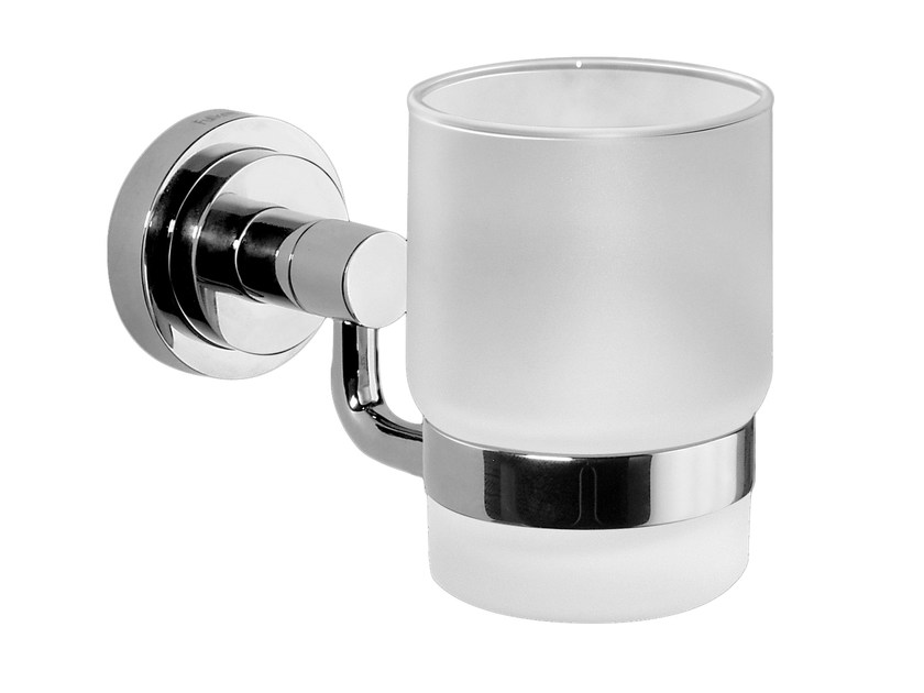 Glass toothbrush holder TRANQUILITY   Toothbrush holder by Graff Europe West