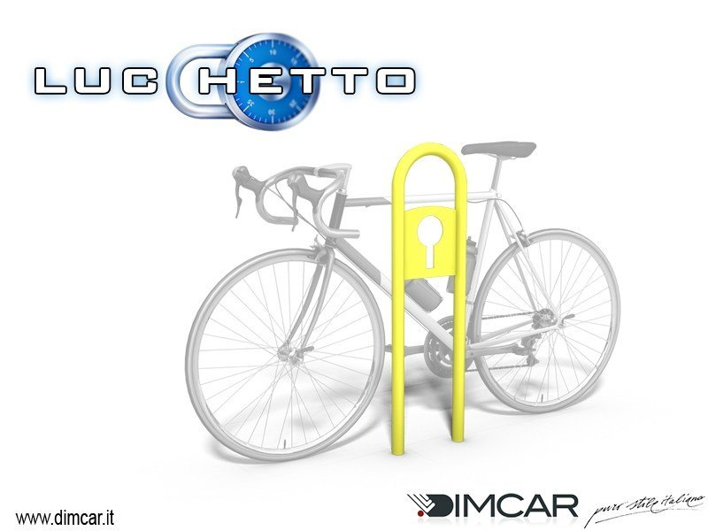 Metal Bicycle rack Lucchetto by DIMCAR