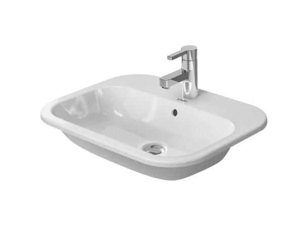 Inset ceramic washbasin HAPPY D.2 | Inset washbasin by Duravit