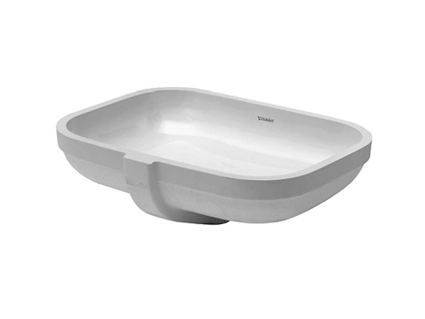 Undermount ceramic washbasin HAPPY D.2 | Undermount washbasin by Duravit