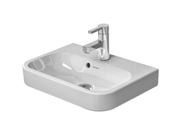 Rectangular ceramic handrinse basin HAPPY D.2   Handrinse basin by Duravit