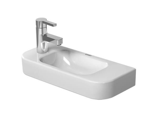 Ceramic handrinse basin HAPPY D.2 | Ceramic handrinse basin by Duravit