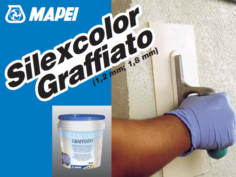 Protection for plasters SILEXCOLOR GRAFFIATO by MAPEI