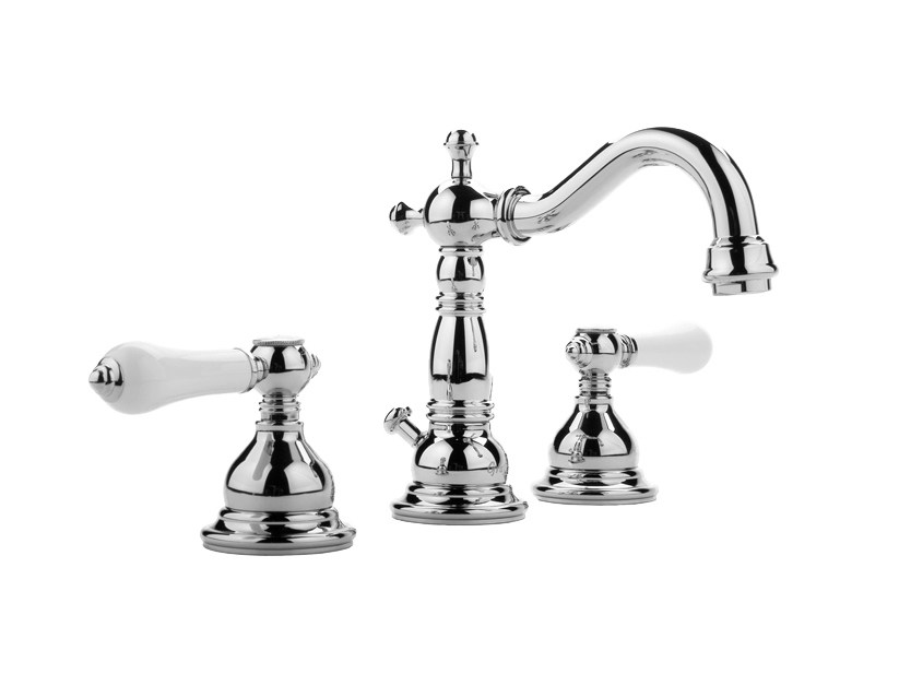 3 hole countertop washbasin tap CANTERBURY | Washbasin tap by Graff Europe West