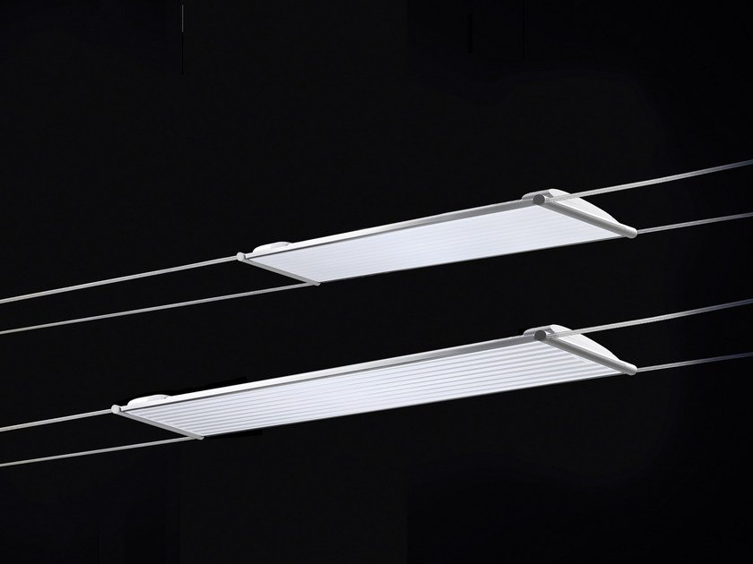 Fluorescent cable-mounted pendant lamp MINITENSOT5 by Cini&Nils