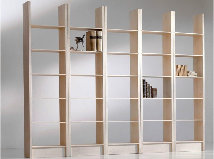 Open maple bookcase GOTTINGA by HABITO
