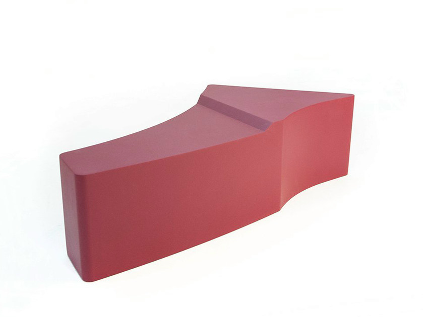 Backless bench seating DEER 01 by Quinze & Milan
