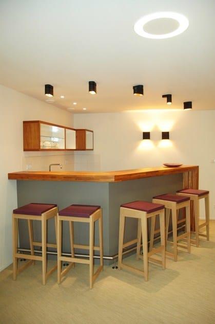 Quinzeamp; In Barchair Milan 26 Legno Sgabello Room Kitchen tsQCdhr