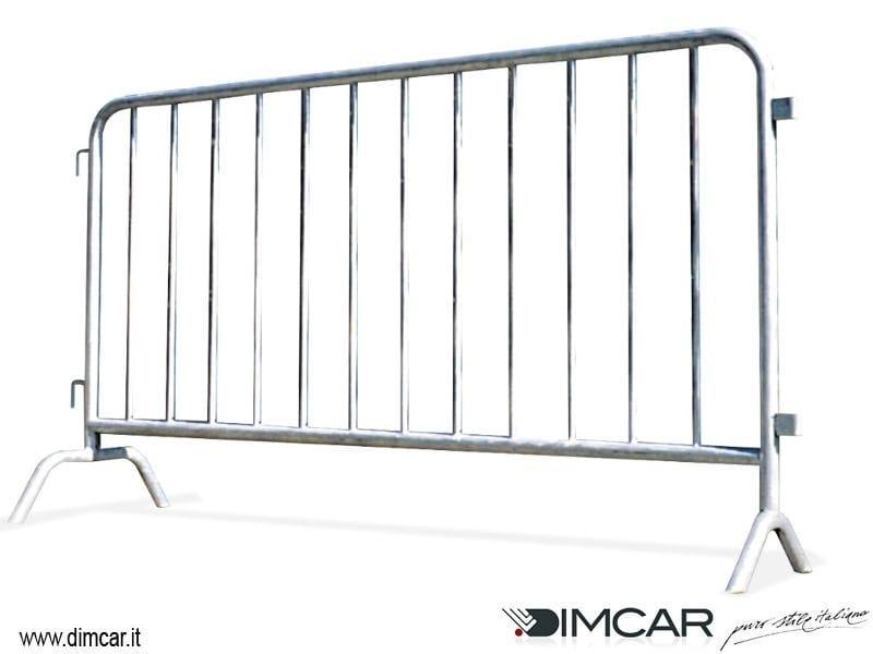 Metal pedestrian barrier Transenna Vittoria by DIMCAR
