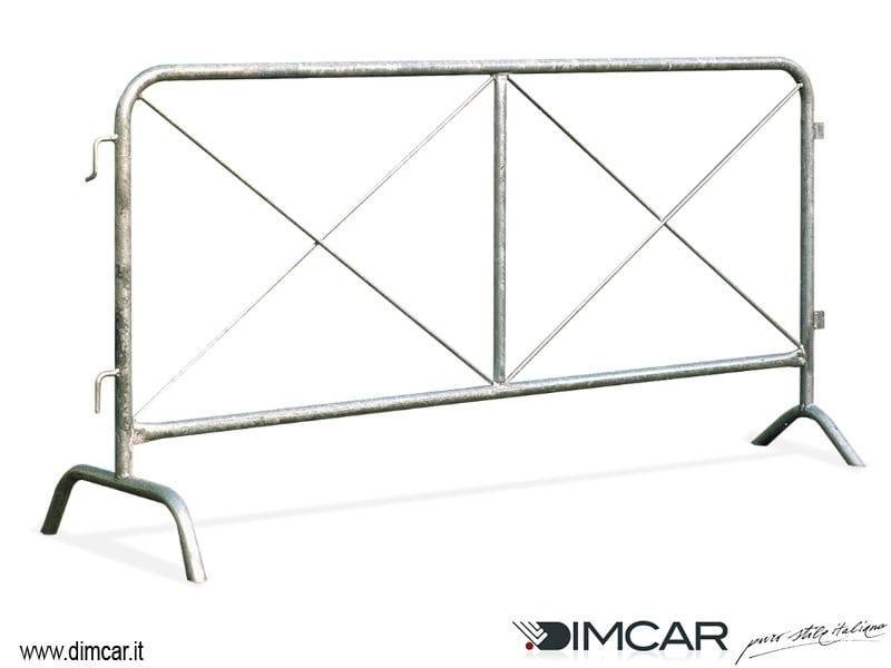 Steel pedestrian barrier Transenna Giulia by DIMCAR