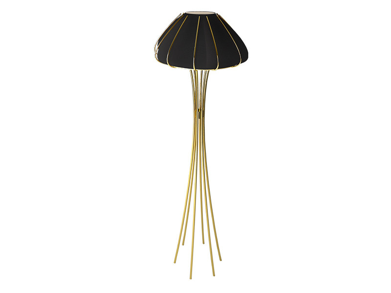 Brass floor lamp ANE | Floor lamp by Creativemary