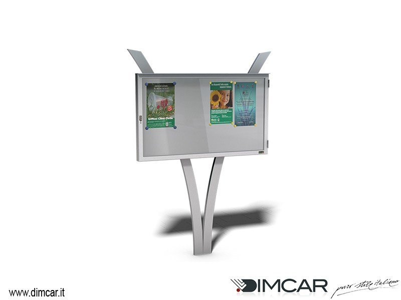 Freestanding notice board Bacheca Vista by DIMCAR